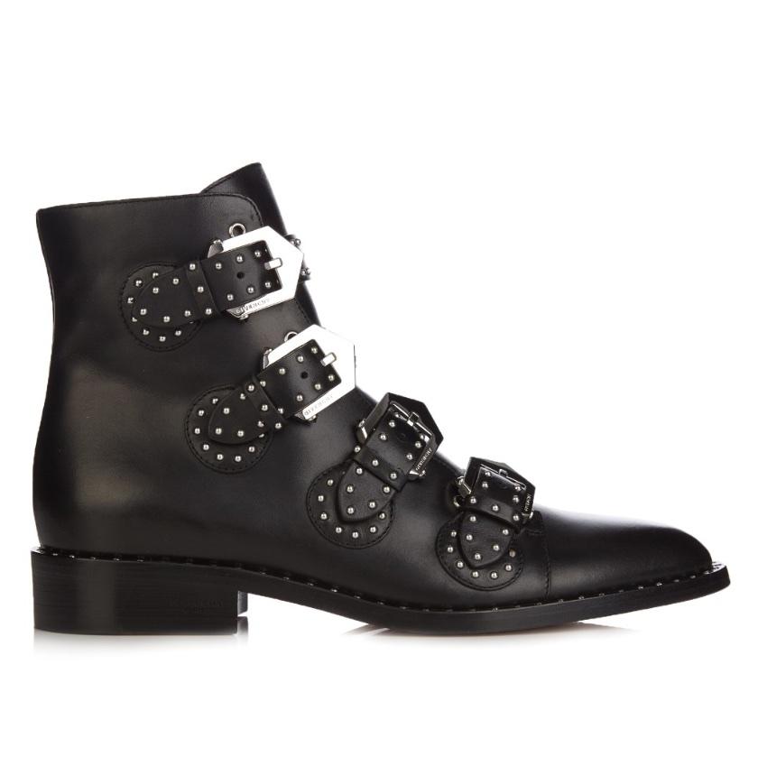 Givenchy stud embellished boots