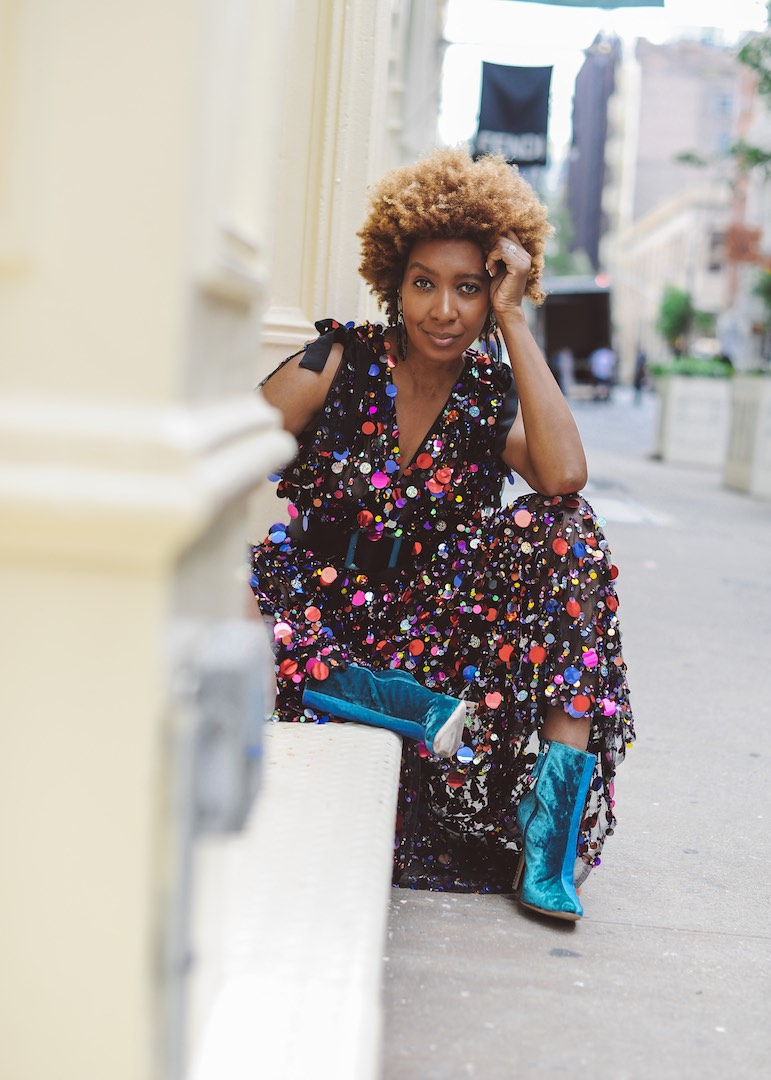 how to style natural afro hair