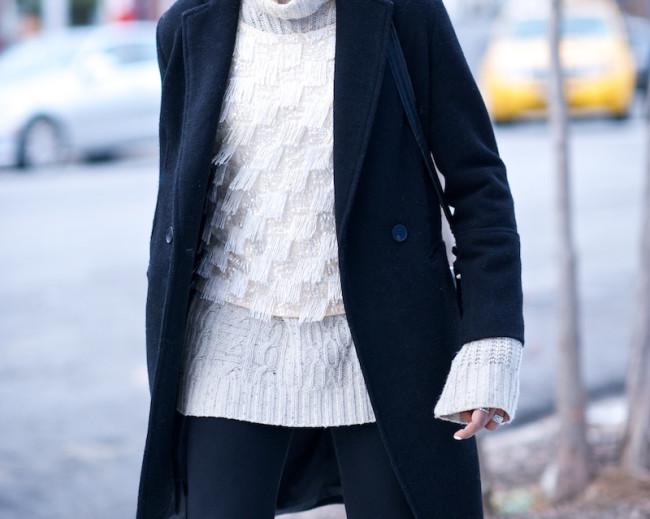 black boyfriend coat