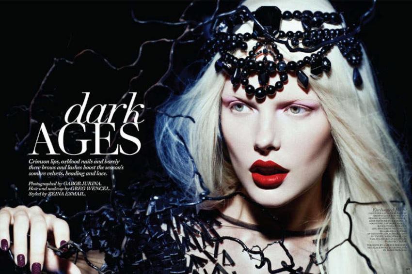 goth make up ideas
