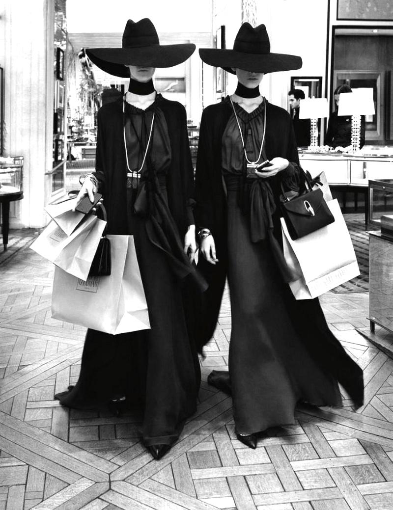 shopping editorial
