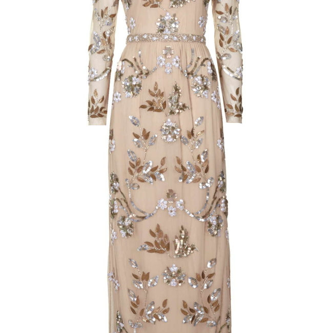 Topshop jewel embellished dress