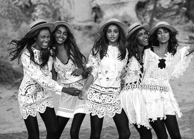 top black fashion models