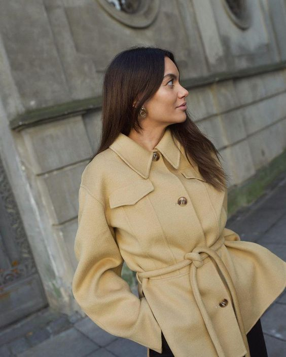 belted jacket styles