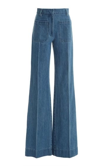 Bootleg jeans for Jeans Spring trend 2021