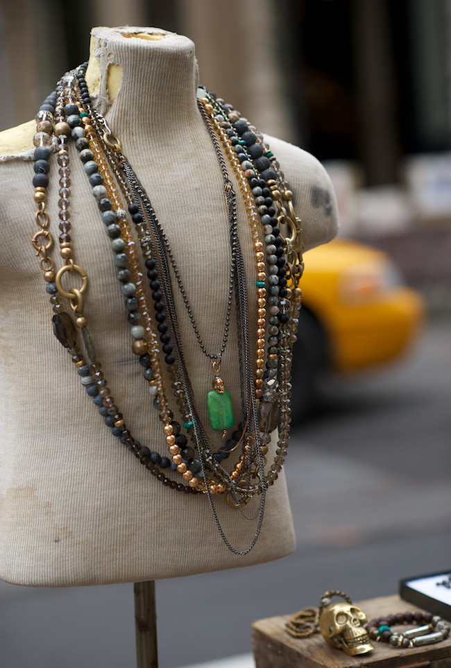 New york street vendor and jewelry designer enrique muthuan