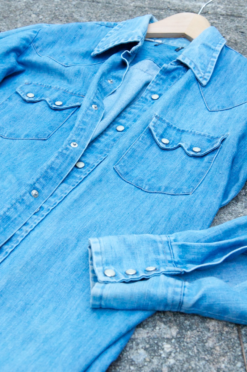 How To Update Your Denim Shirt