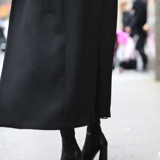 Zara block heel ankle boots