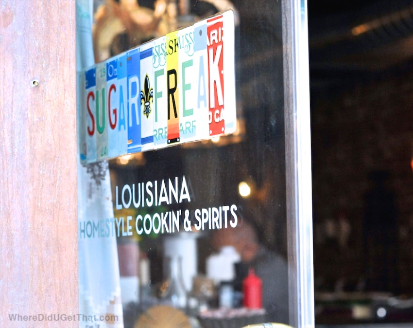 Sugar Freak restaurant, cajun food,
