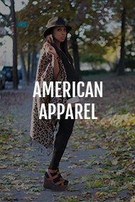 American Apparel category on Where Did U Get That