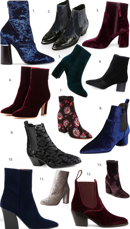 Best Velvet boots