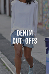 Denim cut-offs category on Where Did U Get That