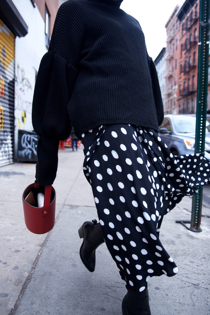 polka dot skirts
