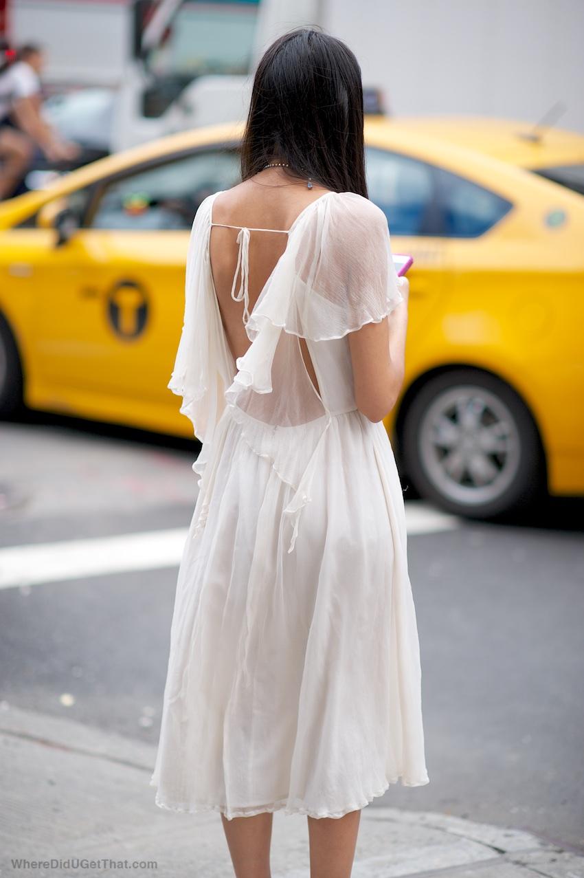 Sheer summer dresses