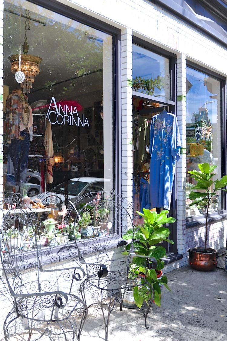 Anna Corinna williamsburg boutique