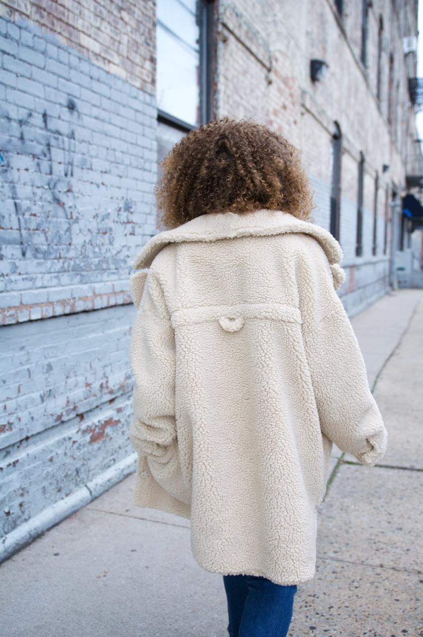 monki teddy coat, teddy coats