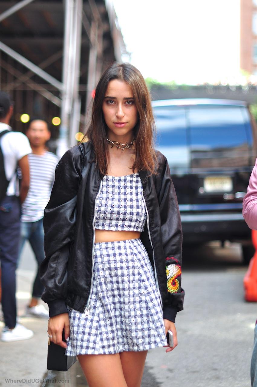 skirts, bomber jacket, new york fashion week