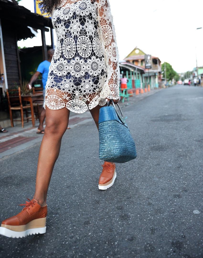 Stella Mccartney wicker elyse shoes