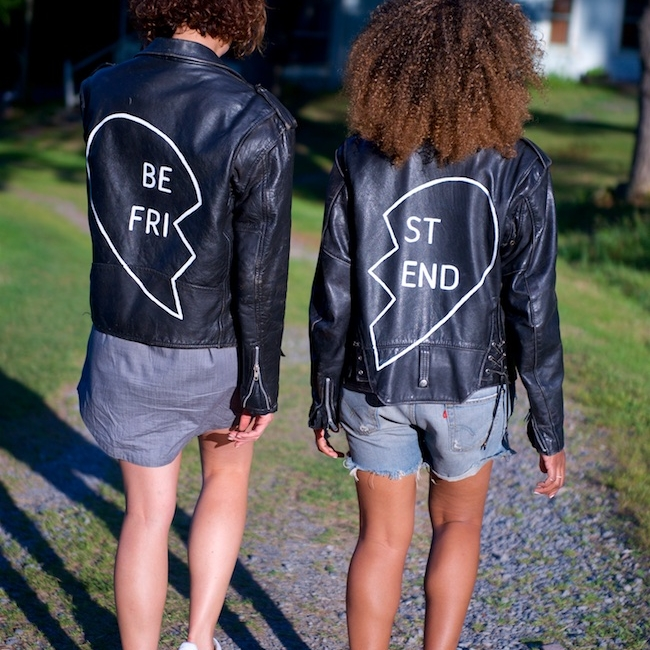 best friends leather jacket