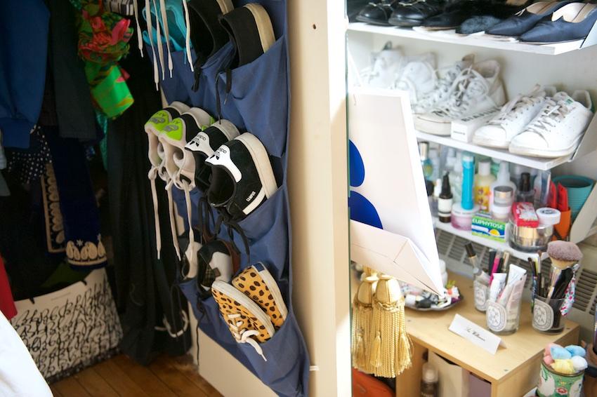 shoe closet, shoe wardrobe
