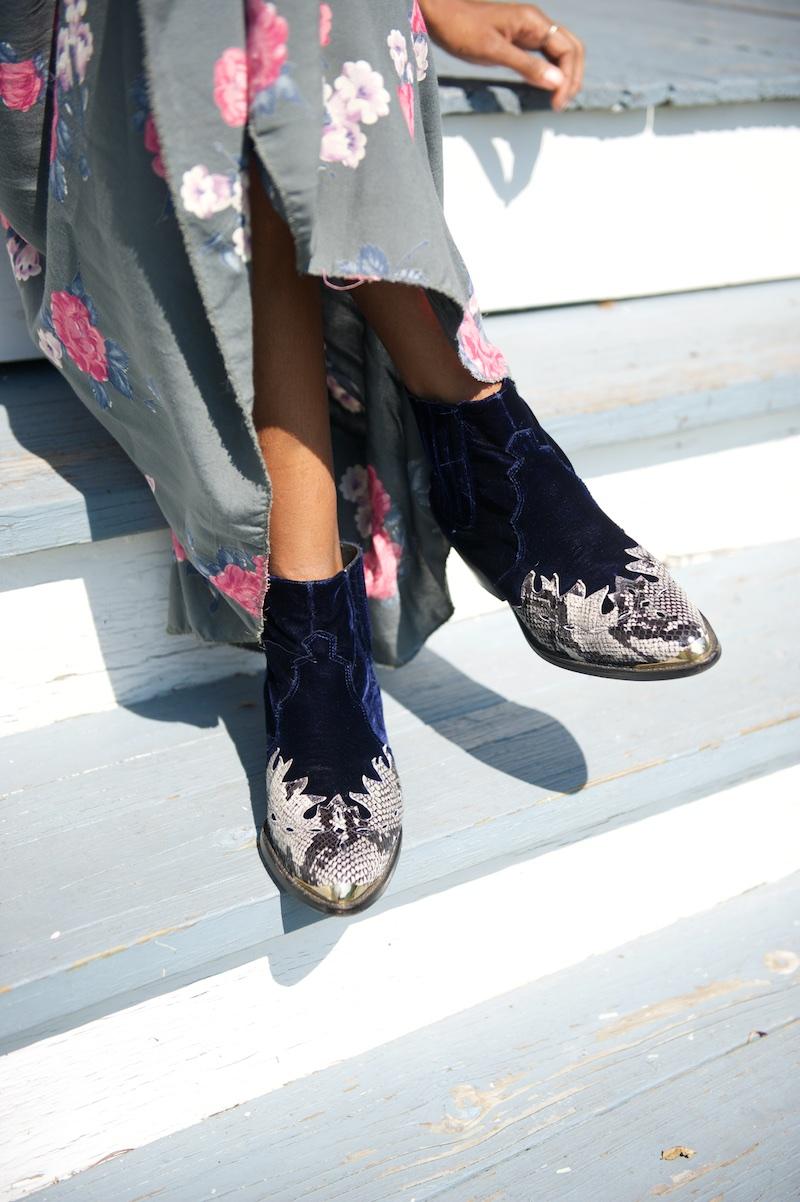 velvet boots, cowboy boots, western boots