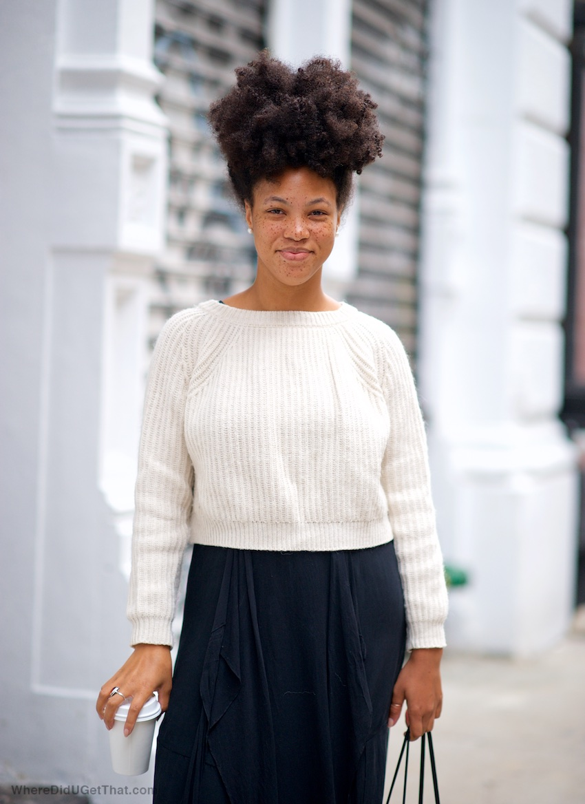 natural afro hair styles