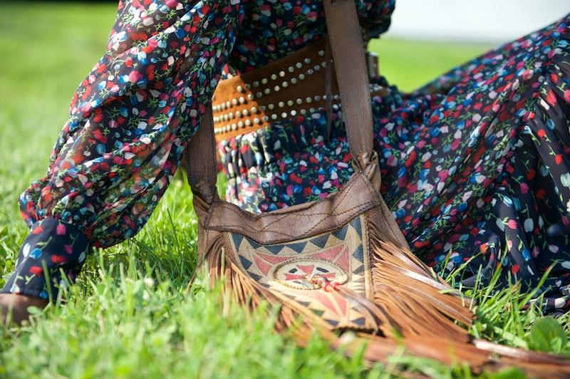 leather fringe bag, new york fashion blogs