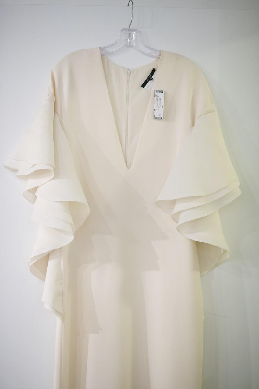 White Gucci dress