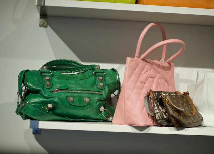 Balenciaga giant hardware city bag