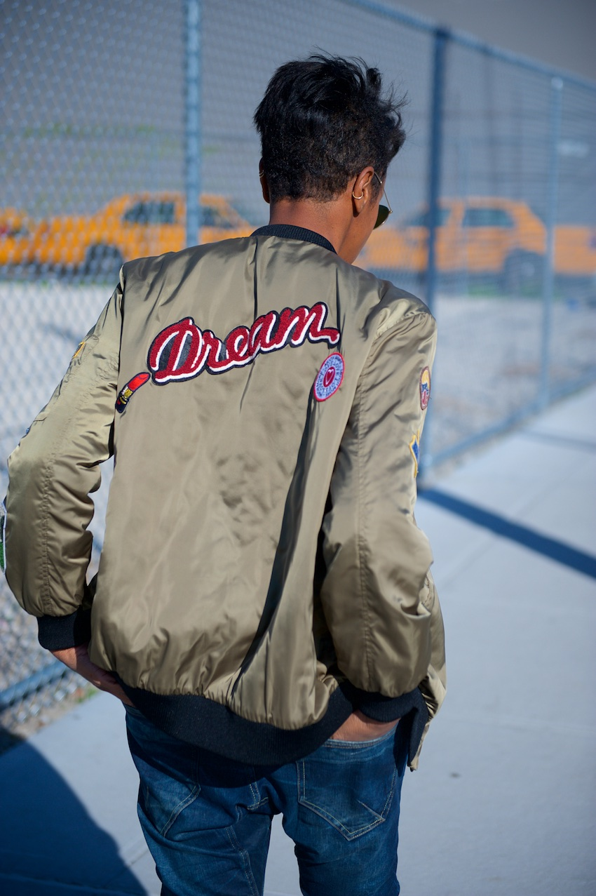 satin bomber jackets