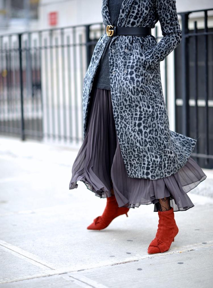 Zara bow kitten heel ankle boots