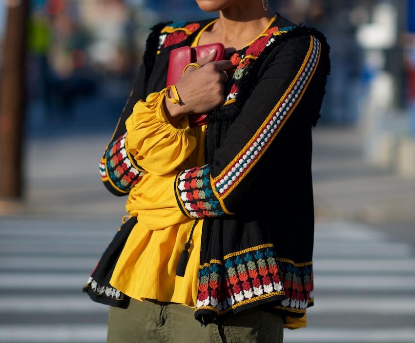 poet sleeve blouse