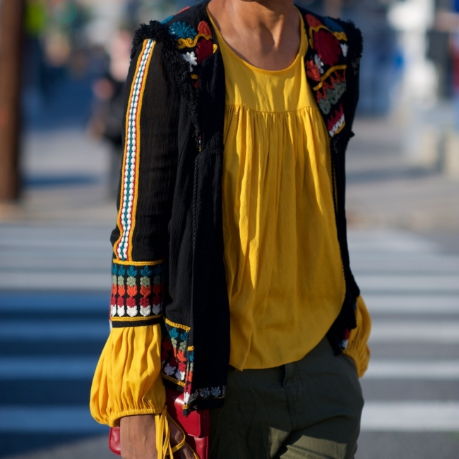 tribal print jacket