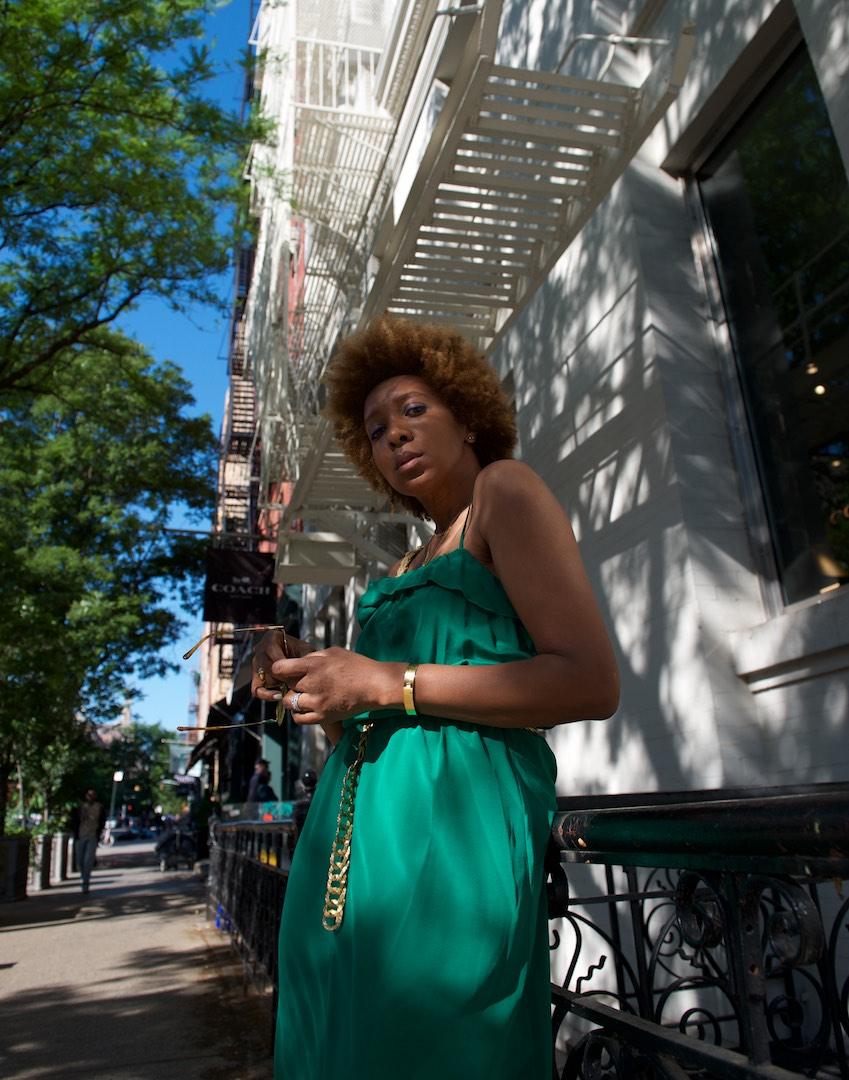Sezane summer dress