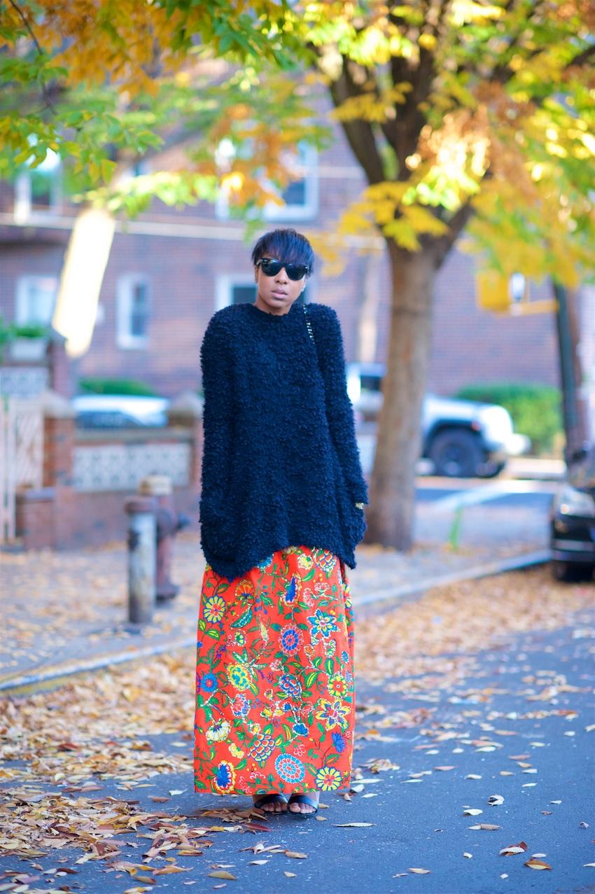 long black sweaters