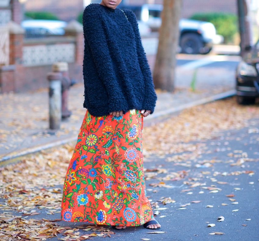 vintage maxi skirts