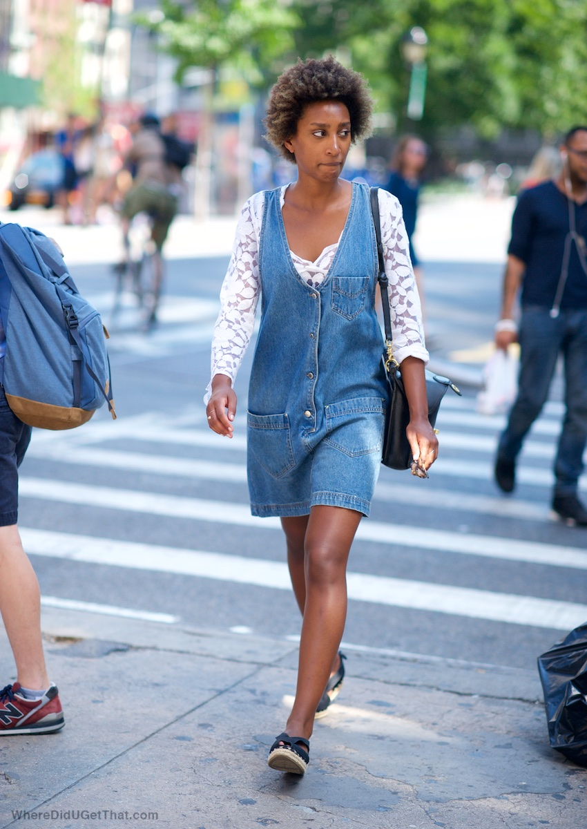 short denim dresses