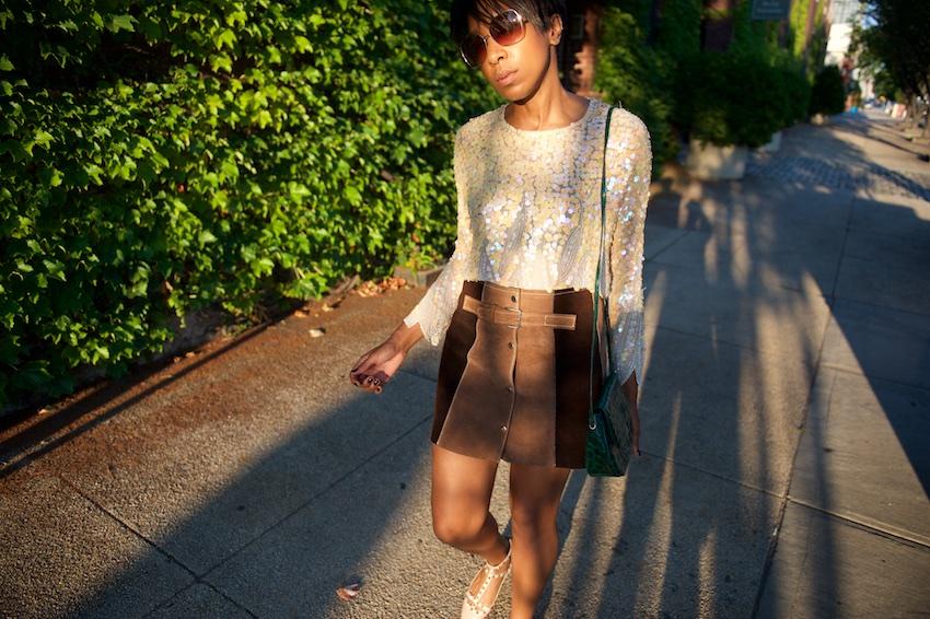 seventies mini skirts