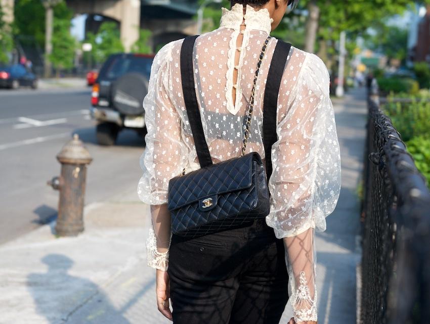 Chanel medium black bag