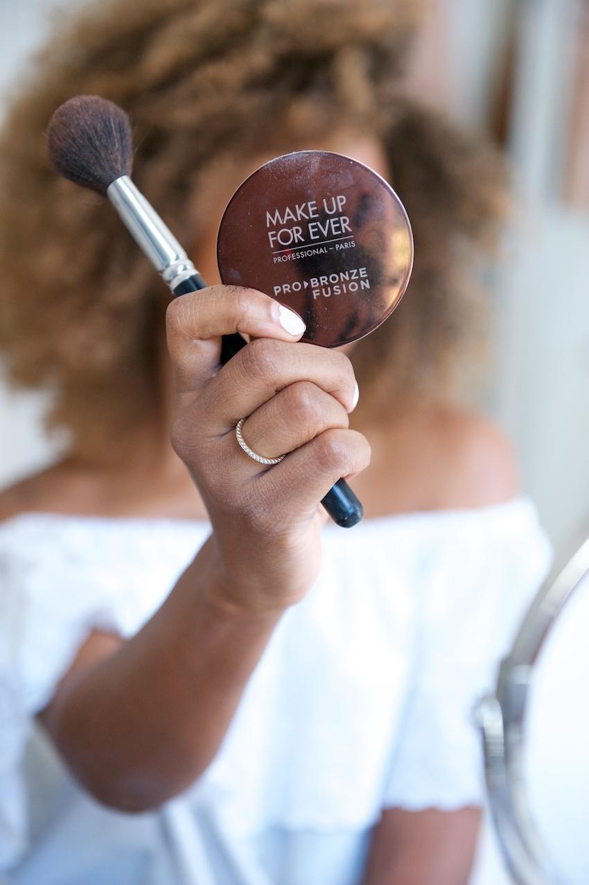 make up forever HD bronzer