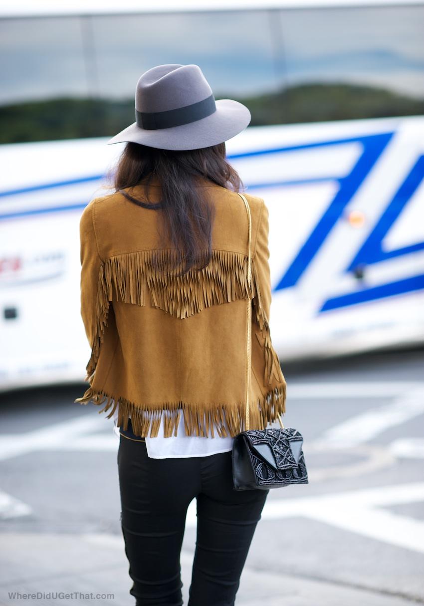 saint laurent fringe jacket