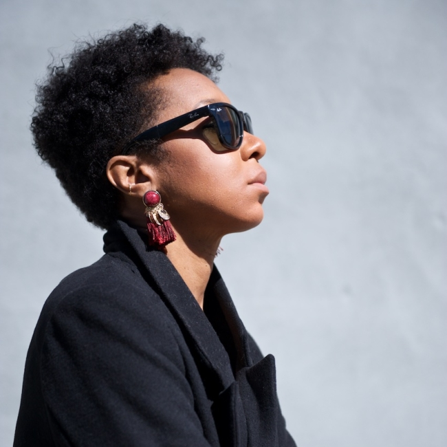 karen blanchard the black fashion blogger talks about caring for short black natural hair