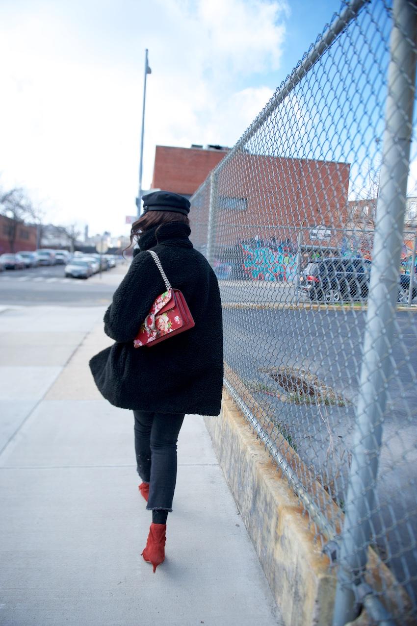 Gucci Dionysus blooms leather bag