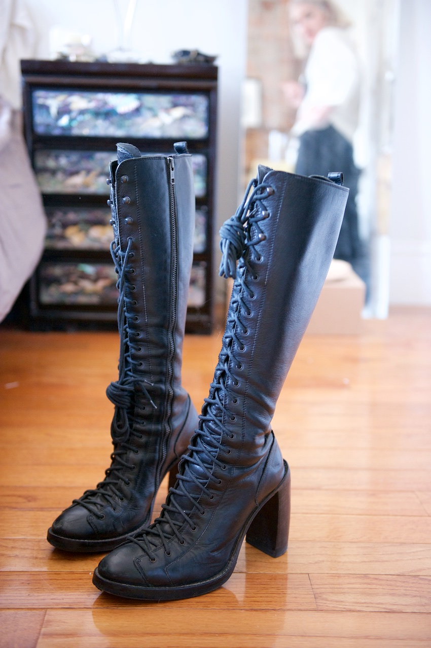 anne demeulemeester boots