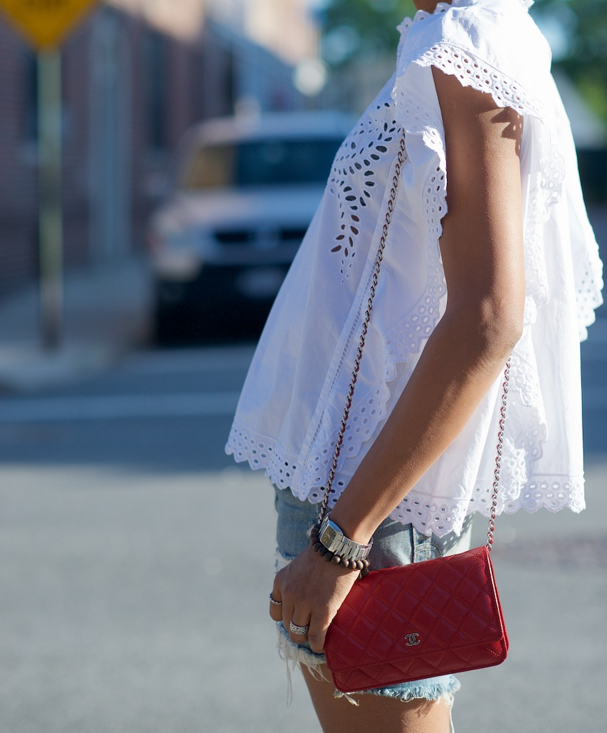 Isabel marant white blouse