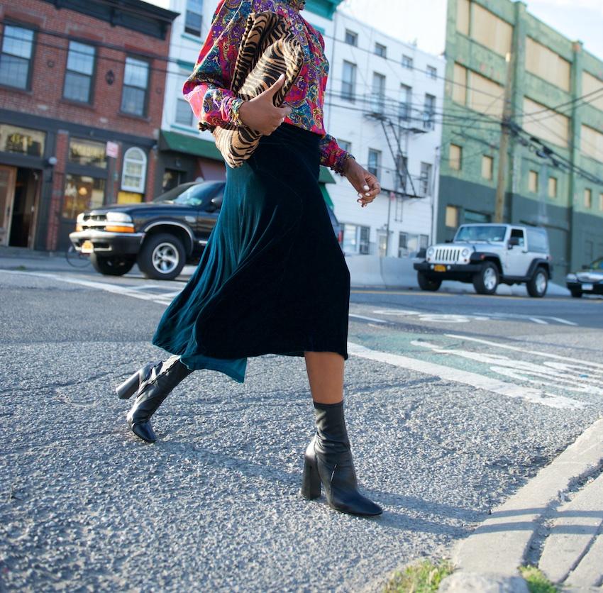 block heels boots