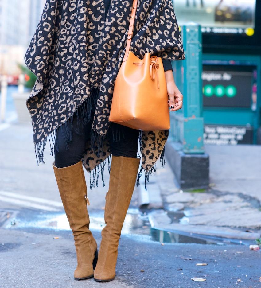leopard print capes