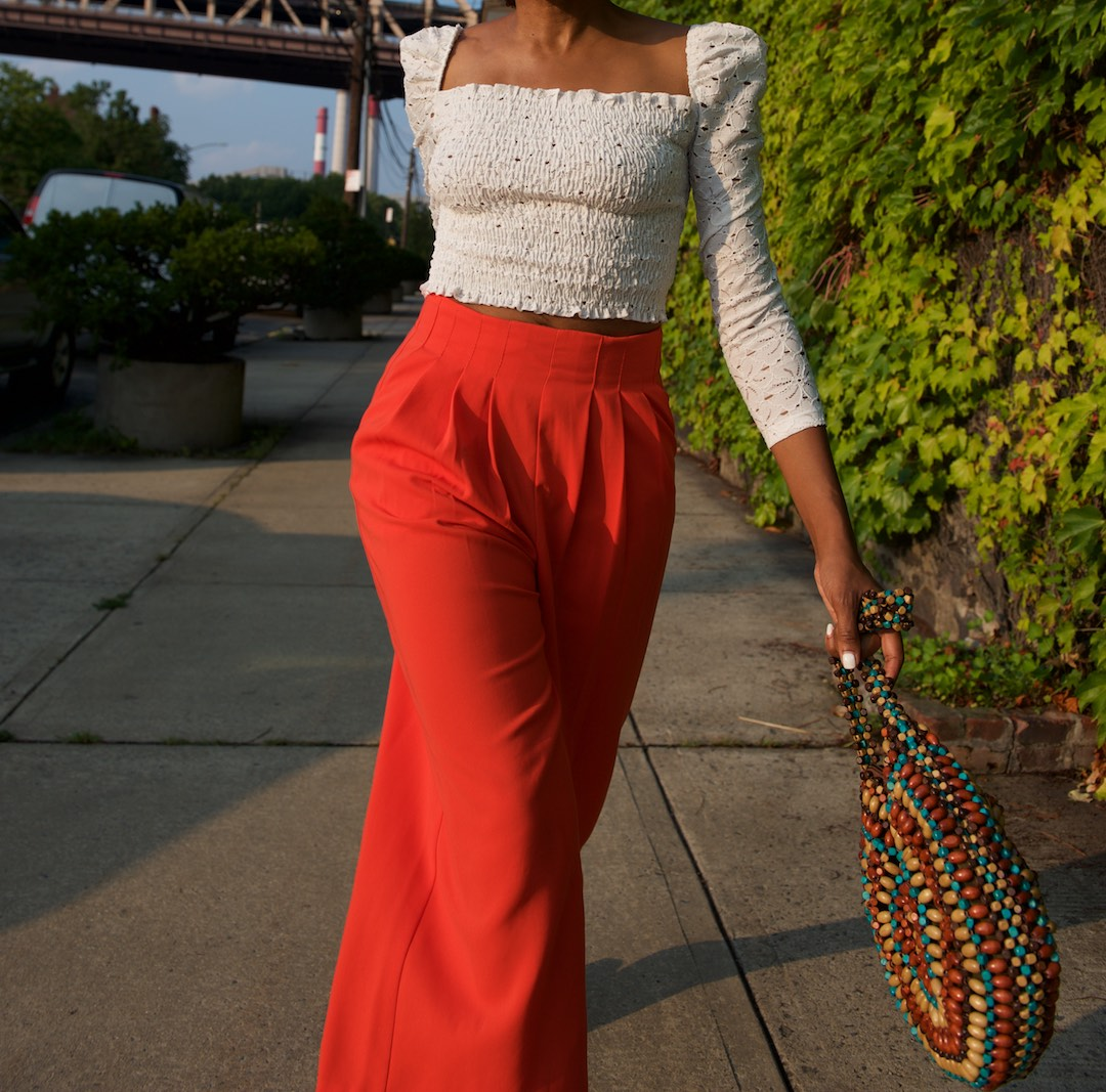how to style wide leg culottes