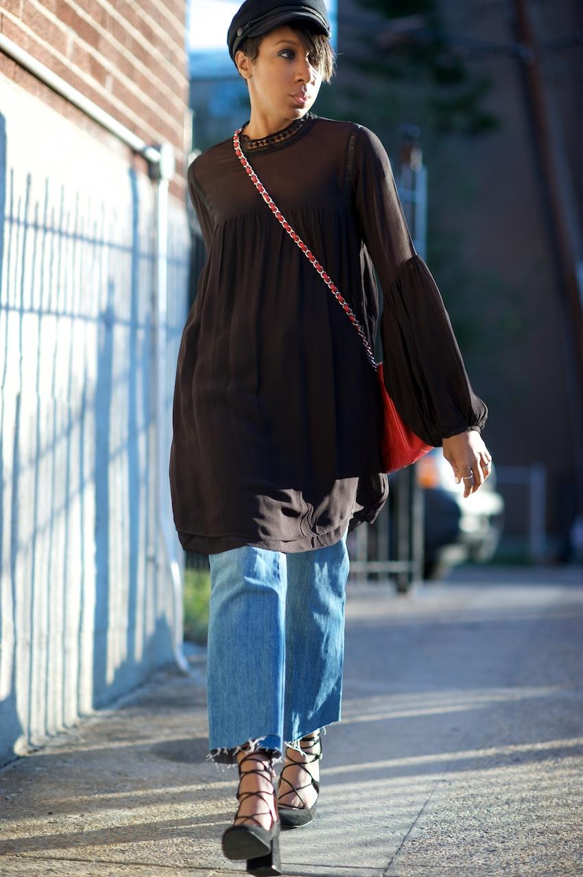 Chanel red jumbo bag