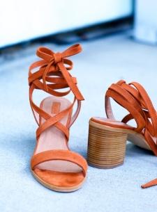 Topshop suede sandals
